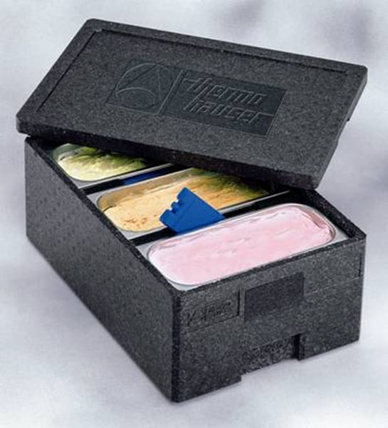 Pojemnik termoizolacyjny do lodów standard 3 kuwety 36x16 Thermohauser
